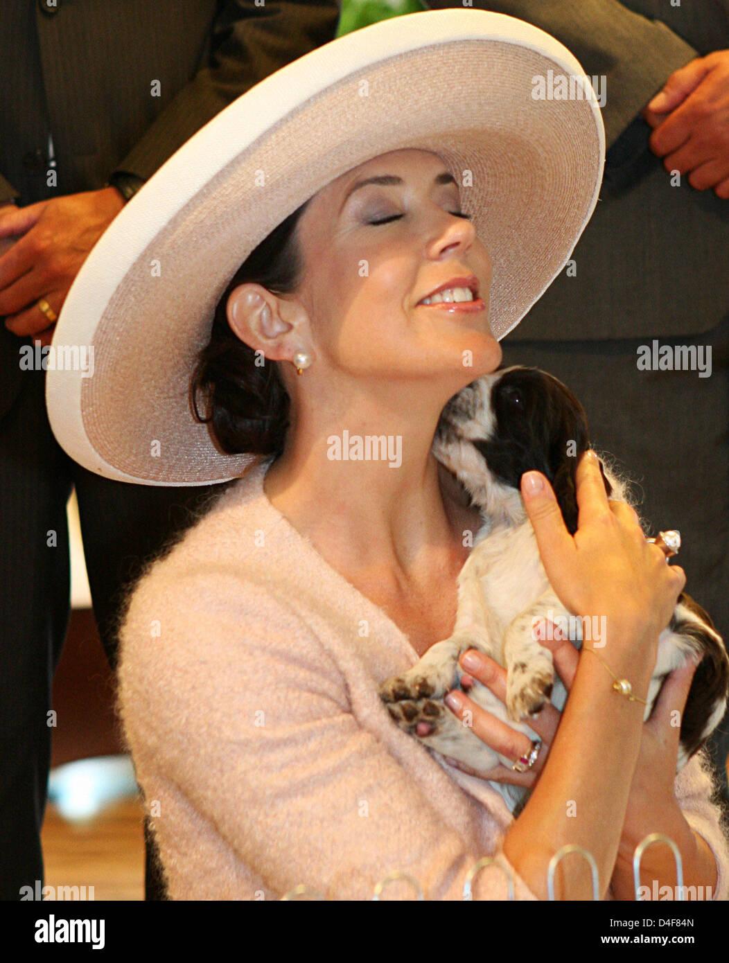 Crown Princess Mary Denmark Holds Stock Photos & Crown Princess ...