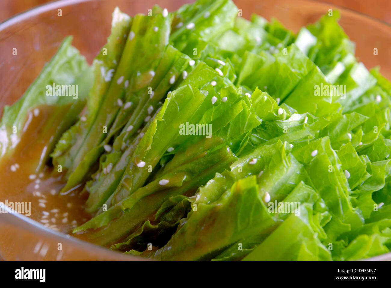 china delicious food--vegetable receive favors sweet sauce - Stock Image