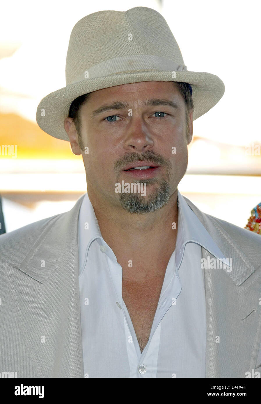 d556ff74be3 Actor Brad Pitt attends the photocall for the movie  Burn After Reading  at  the 65th Venice Film Festival