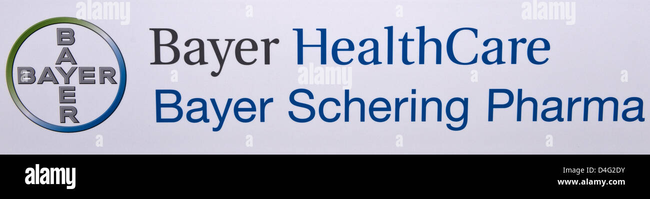 Bayer Logo Stock Photos Bayer Logo Stock Images Alamy