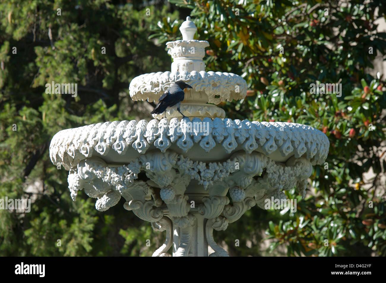 Türkei, Istanbul, Besiktas, der Dolmabahce-Palast oder Dolmabahce Sarayi, Palast der aufgeschütteten Gärten Stock Photo