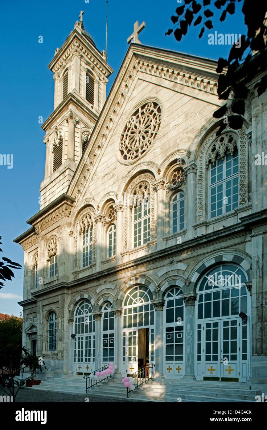 Türkei, Istanbul, Beyoglu, griechisch-orthodoxe Kirche Agia Triada Stock Photo