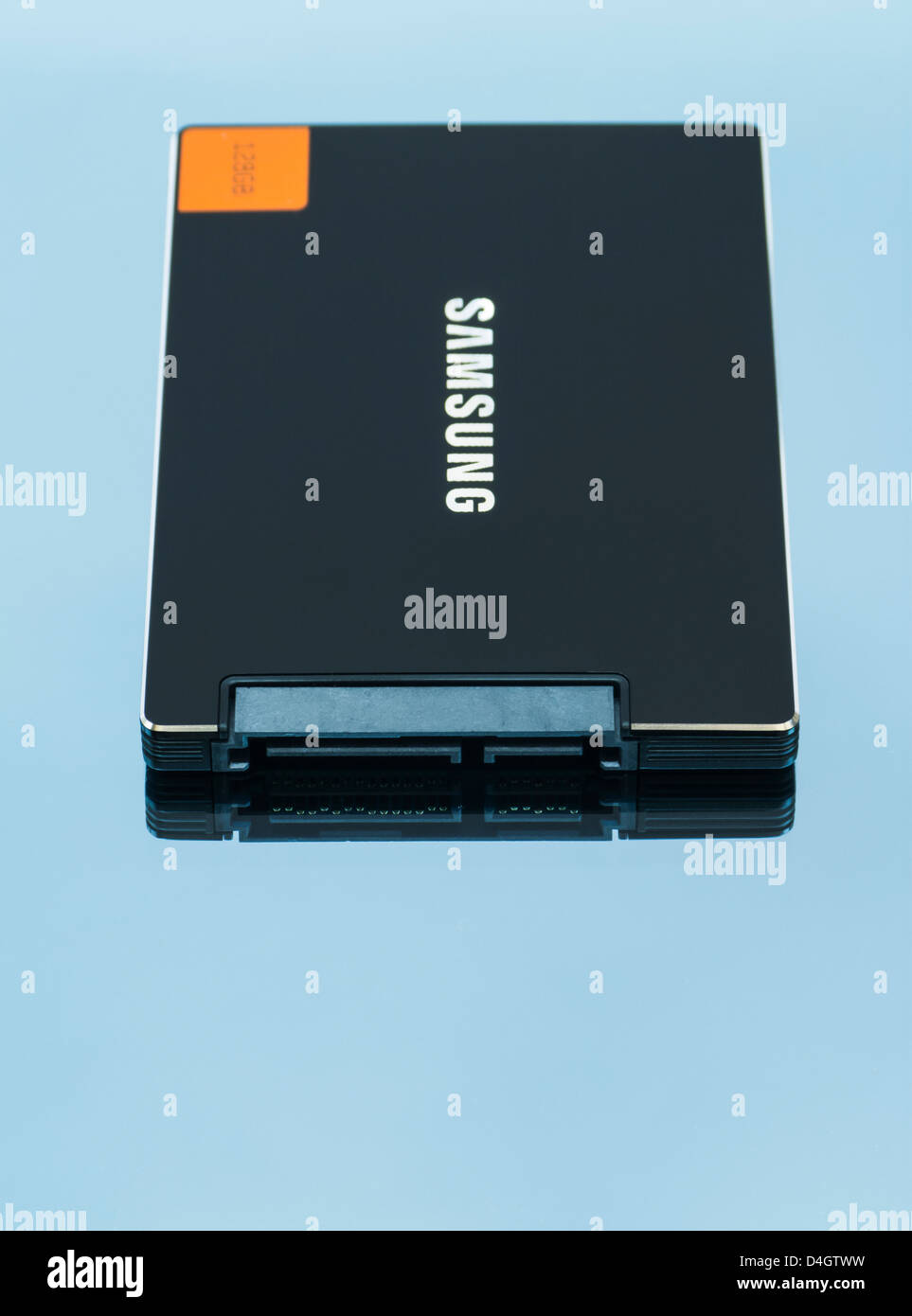 Samsung Solid State Drive - Stock Image