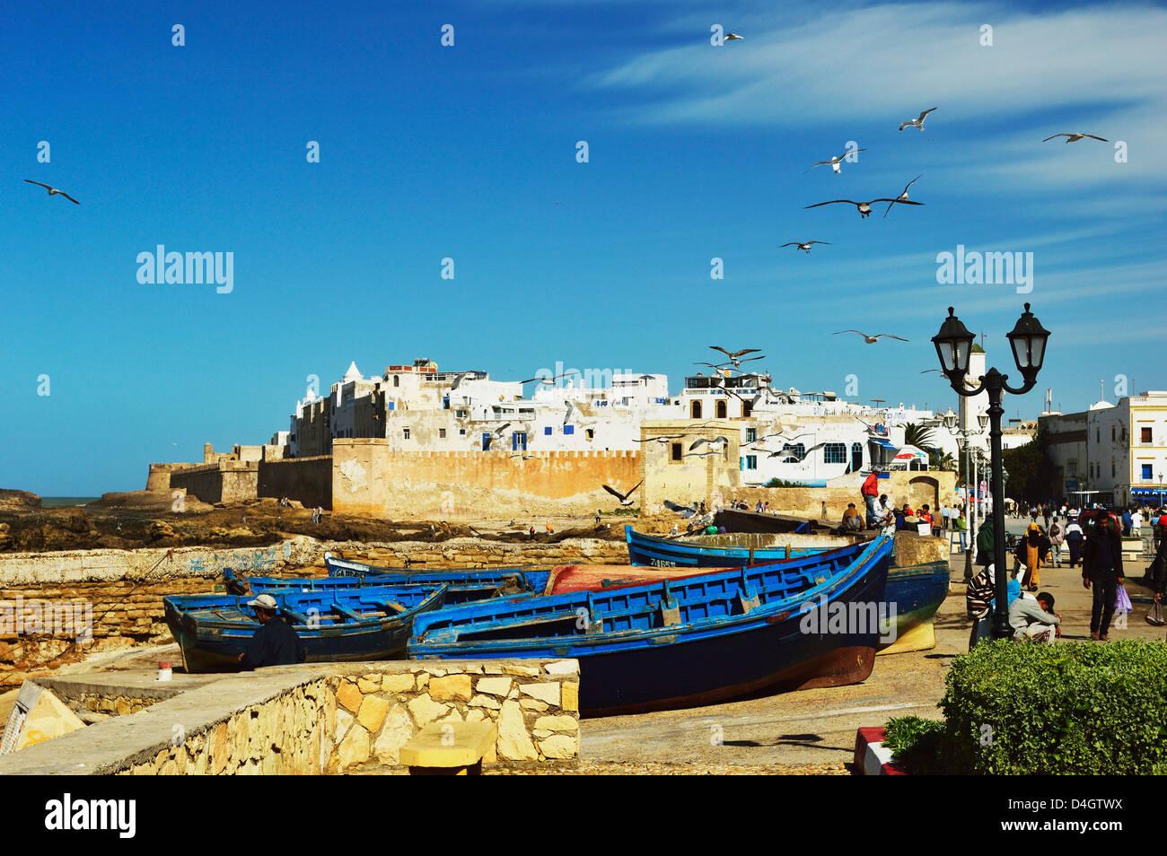 Essaouira, Atlantic Coast, Morocco, North Africa - Stock Image