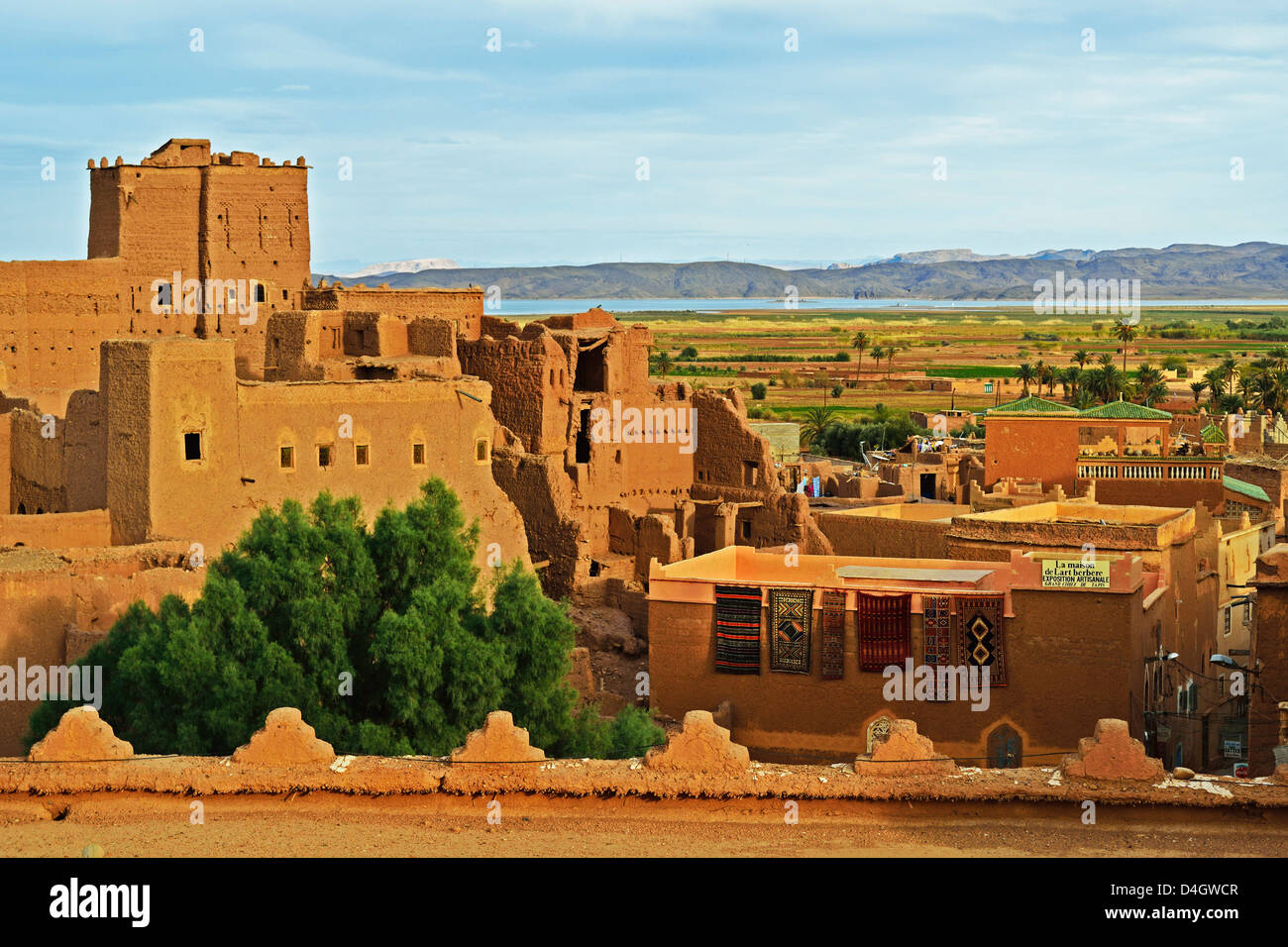 Kasbah Taourirt, Ouarzazate, Morocco, North Africa - Stock Image