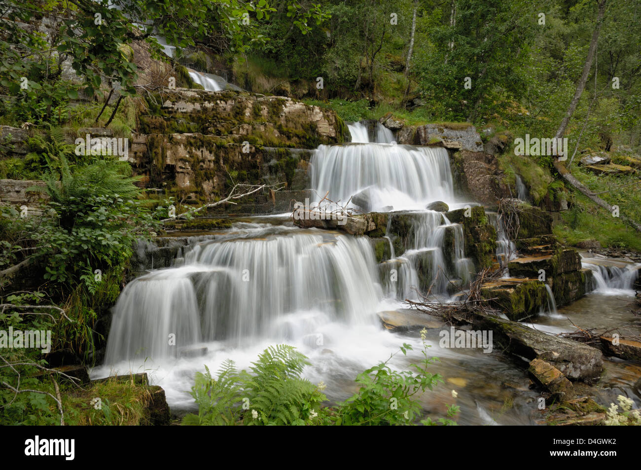 English bbw waterfall