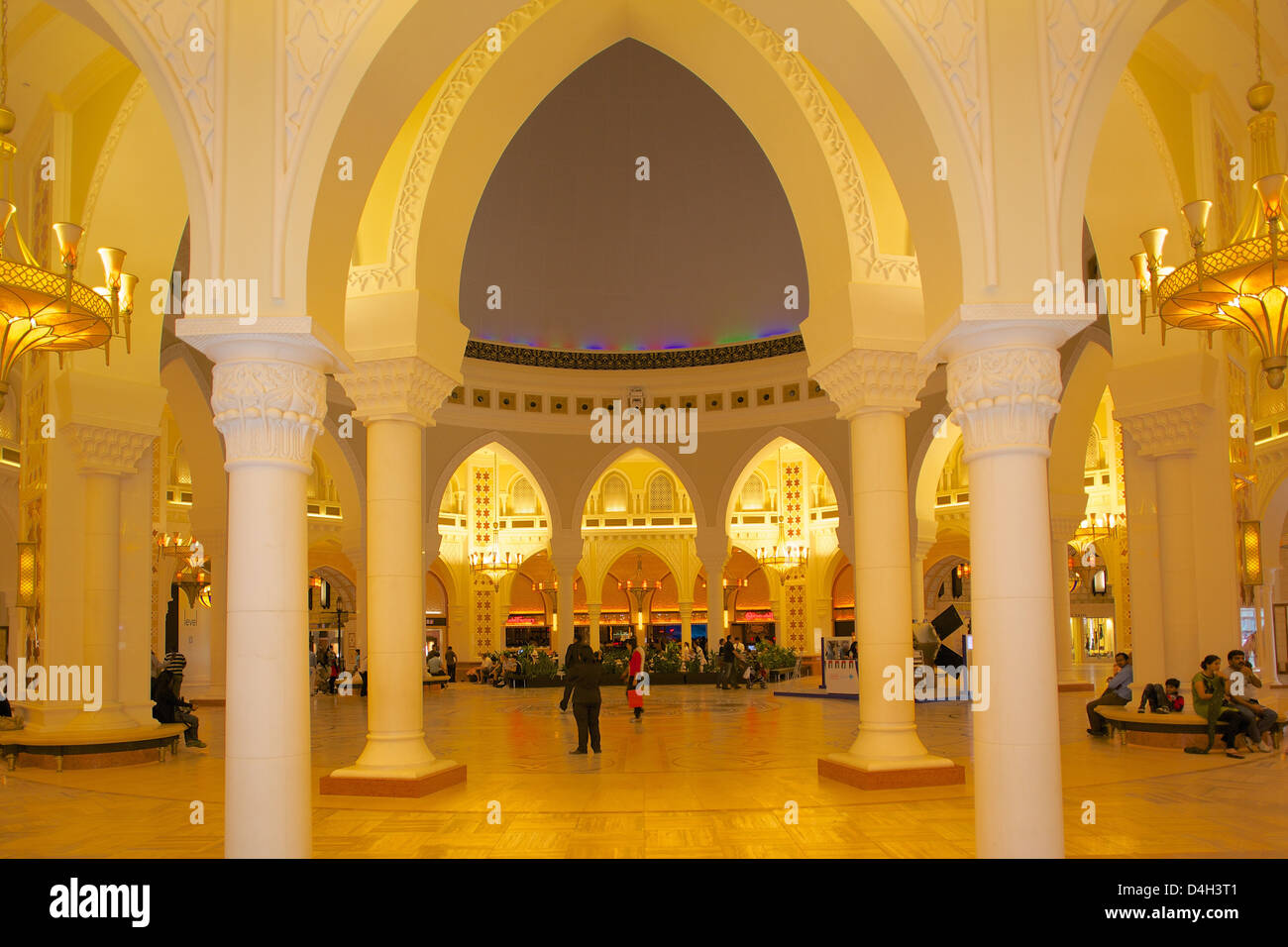 Gold Souk, Dubai Mall, Dubai, United Arab Emirates, Middle East - Stock Image