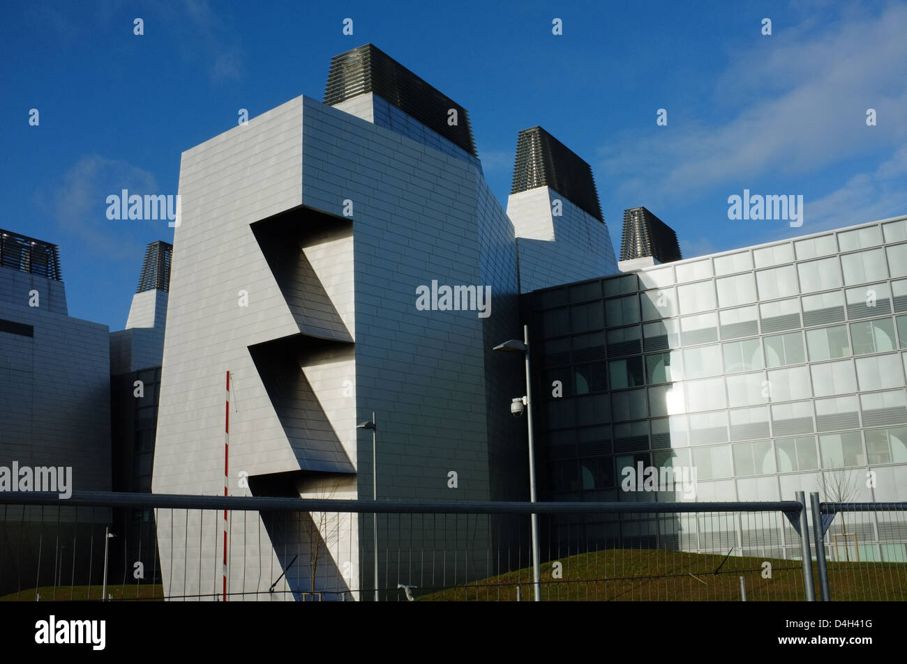 Cambridge Biomedical Campus, Hills Road Cambridge England UK - Stock Image