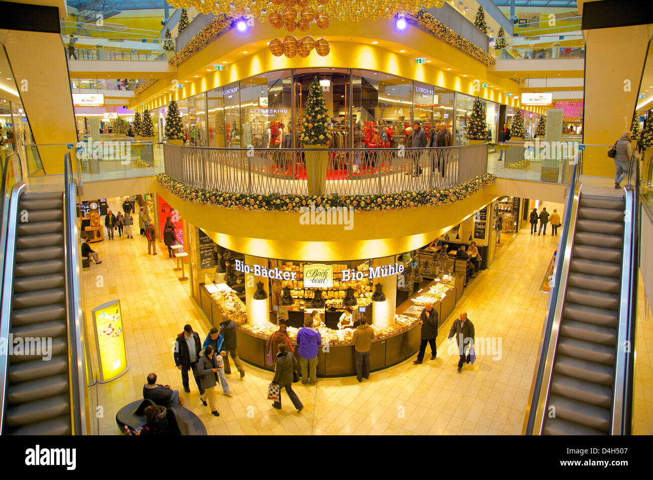 thier gallery shopping centre at christmas dortmund north stock photo 54466839 alamy. Black Bedroom Furniture Sets. Home Design Ideas