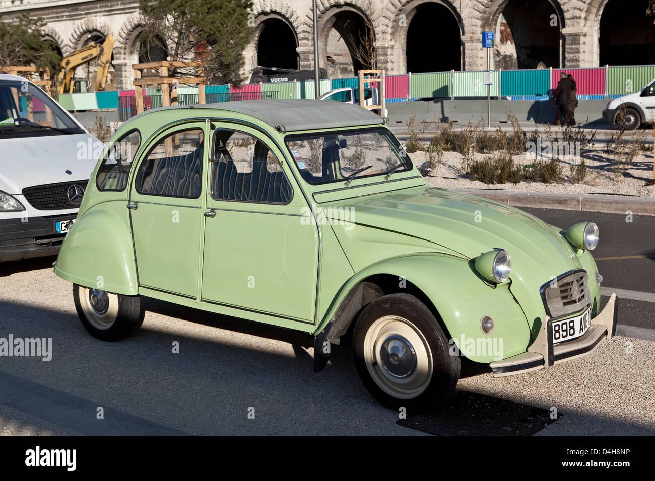 Citroen motorcar - Stock Image