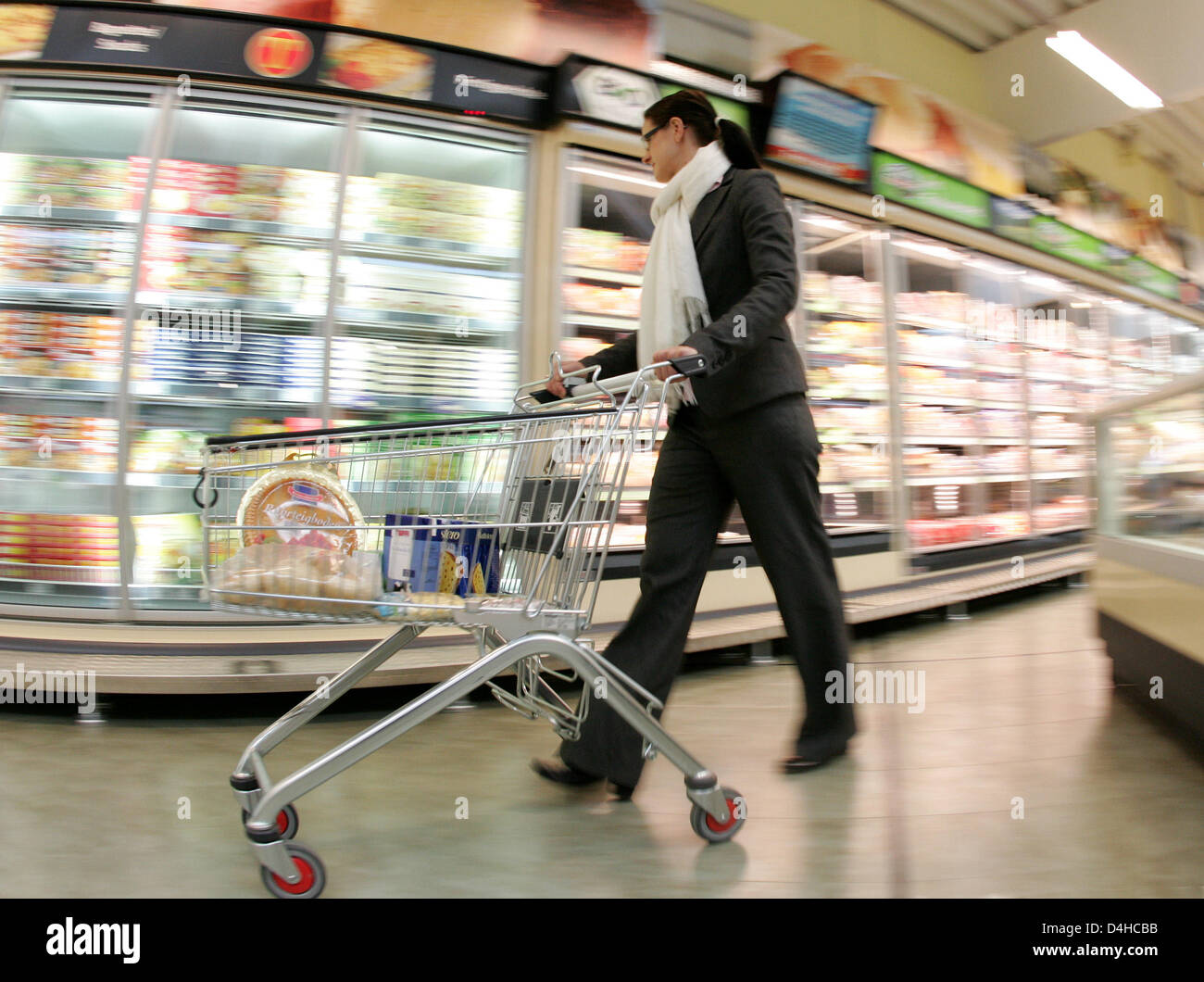 A mystery shopper is pictured in the first so-called
