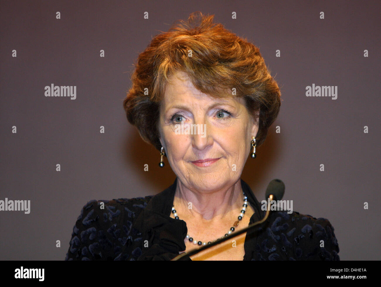Princess Margriet of the Netherlands attends the bestowal ceremony of the ?Princess Margriet Award for Cultural - Stock Image