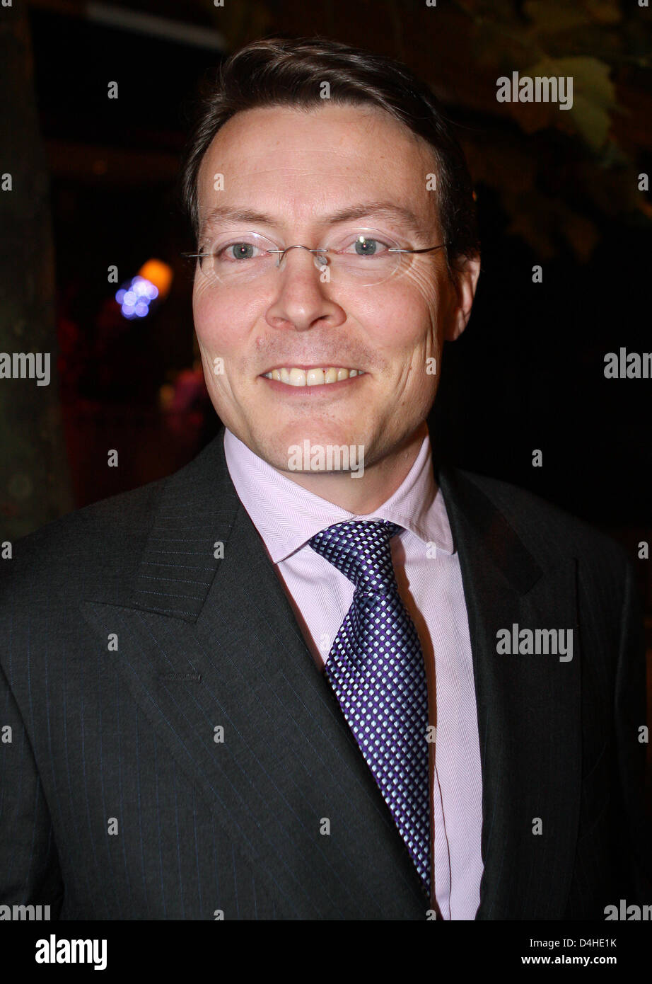 Prince Constantijn of the Neterlands attends the bestowal ceremony of the ?Princess Margriet Award for Cultural - Stock Image