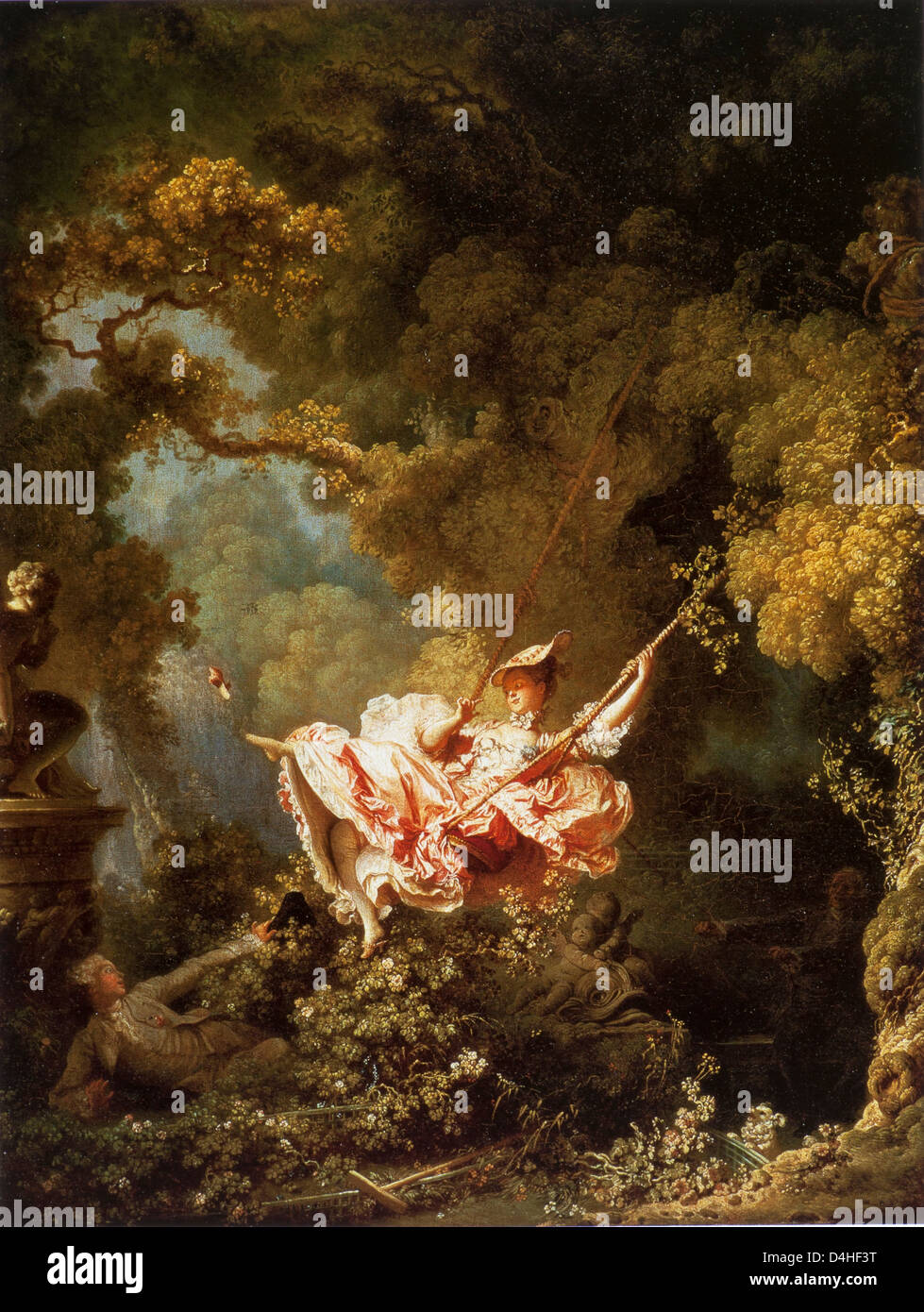 The Swing 1766 67 By Jean Honore Fragonard At The Wallace Stock
