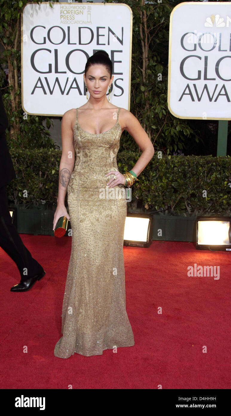 9b29a22ac Actress Megan Fox arrives for the 66th Annual Golden Globe Awards at the Beverly  Hilton Hotel in Beverly Hills