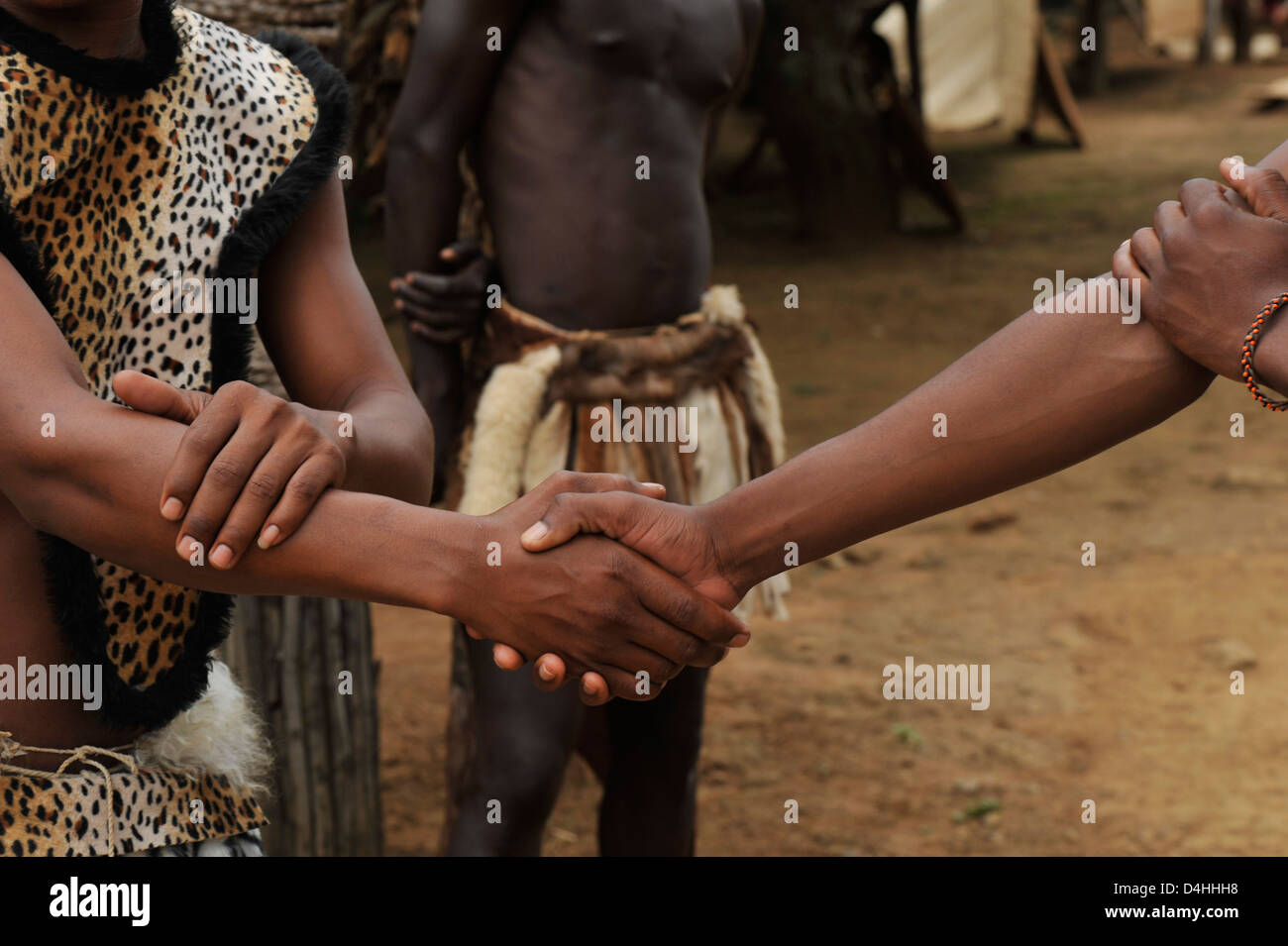 Clasping of hands demonstration of greeting traditional zulu stock clasping of hands demonstration of greeting traditional zulu handshake kwazulu natal south africa ethnicity travel vacations m4hsunfo
