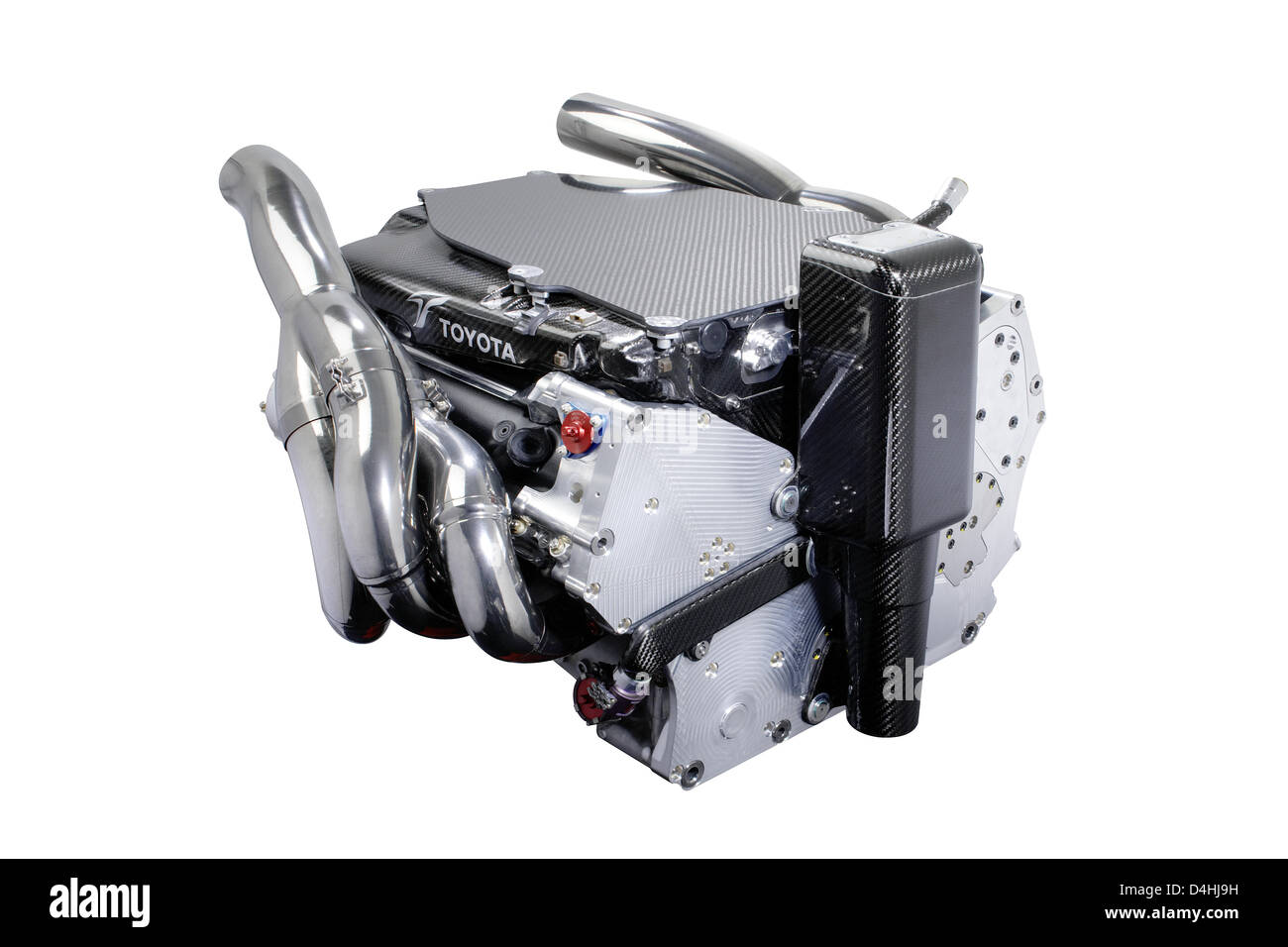 Engine RVX-09 is pictured during the online presentation of