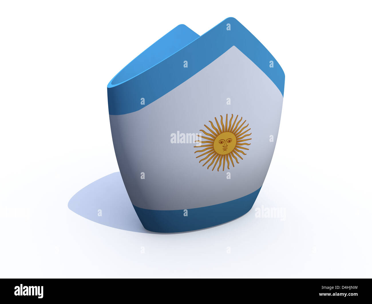 Mitre pope hat stock photos mitre pope hat stock images alamy argentine pope hat 3d illustration stock image maxwellsz