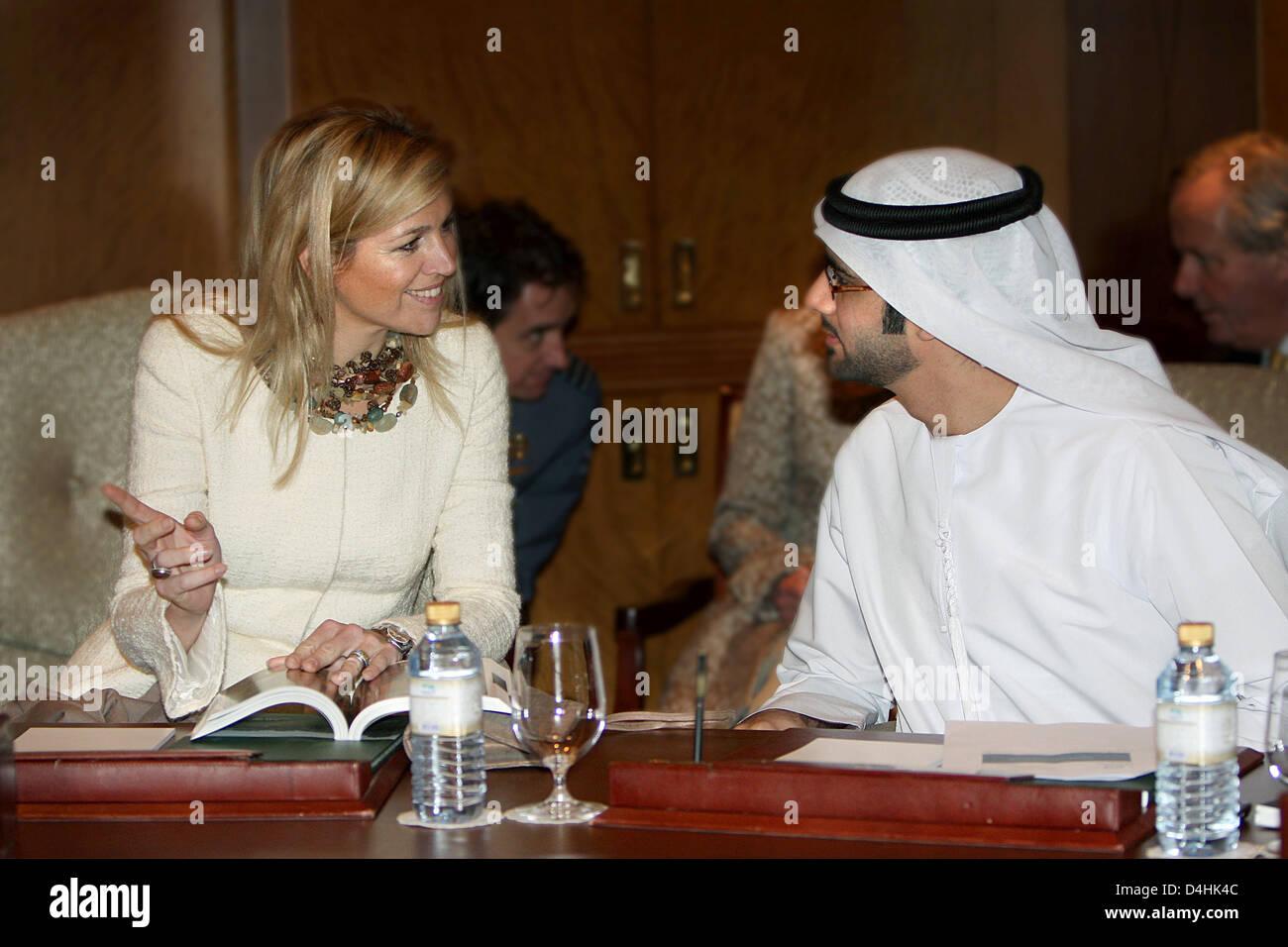 Dutch Princess Maxima Seen During A Workshop Of The Abu Dhabi