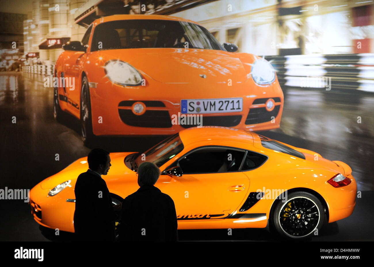 Visitors to the auto exhibition at the annual general meeting of ...