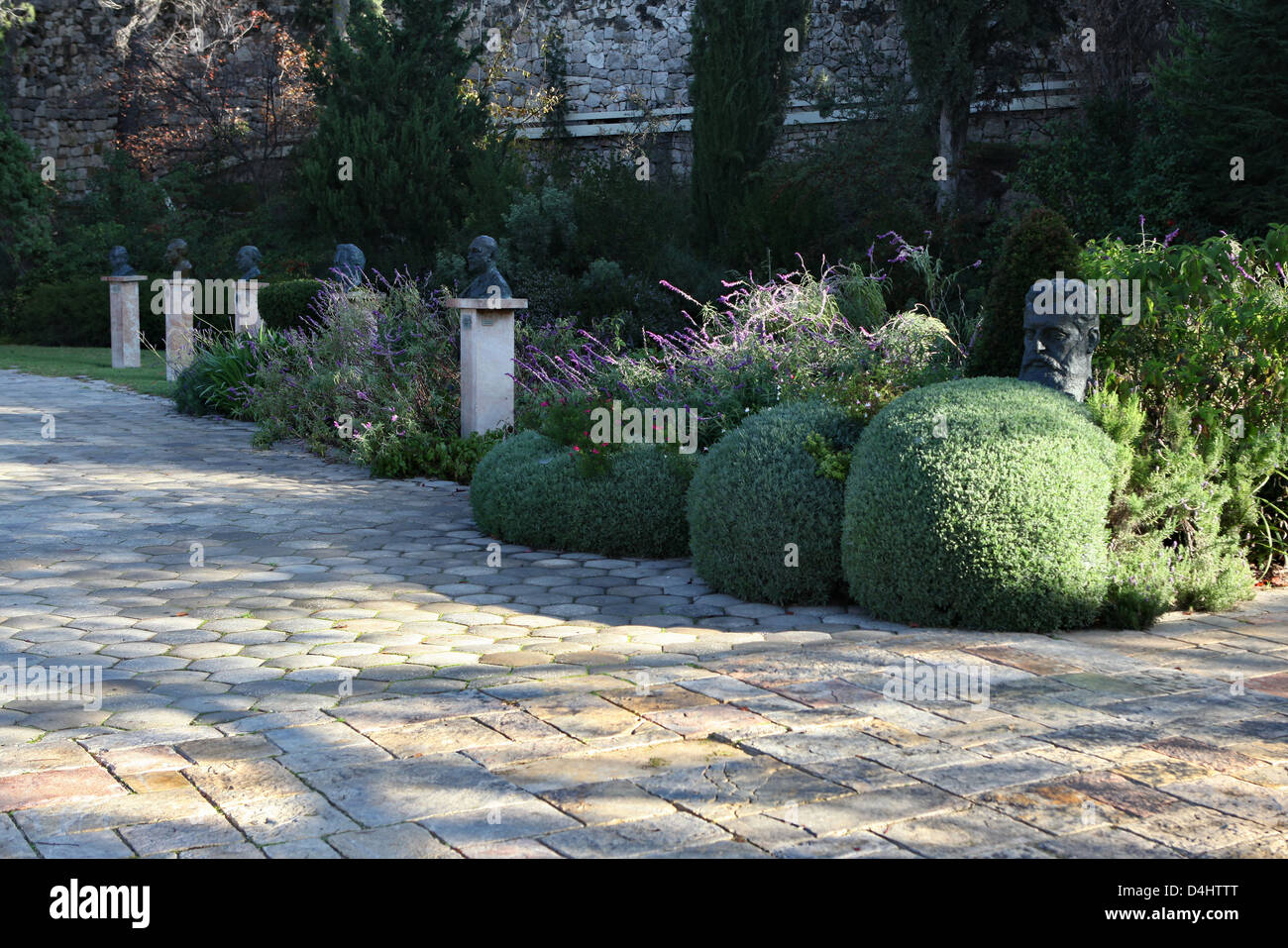 Beit HaNassi ('President's House'), also known as Mishkan HaNassi ('Presidential Residence') - Stock Image