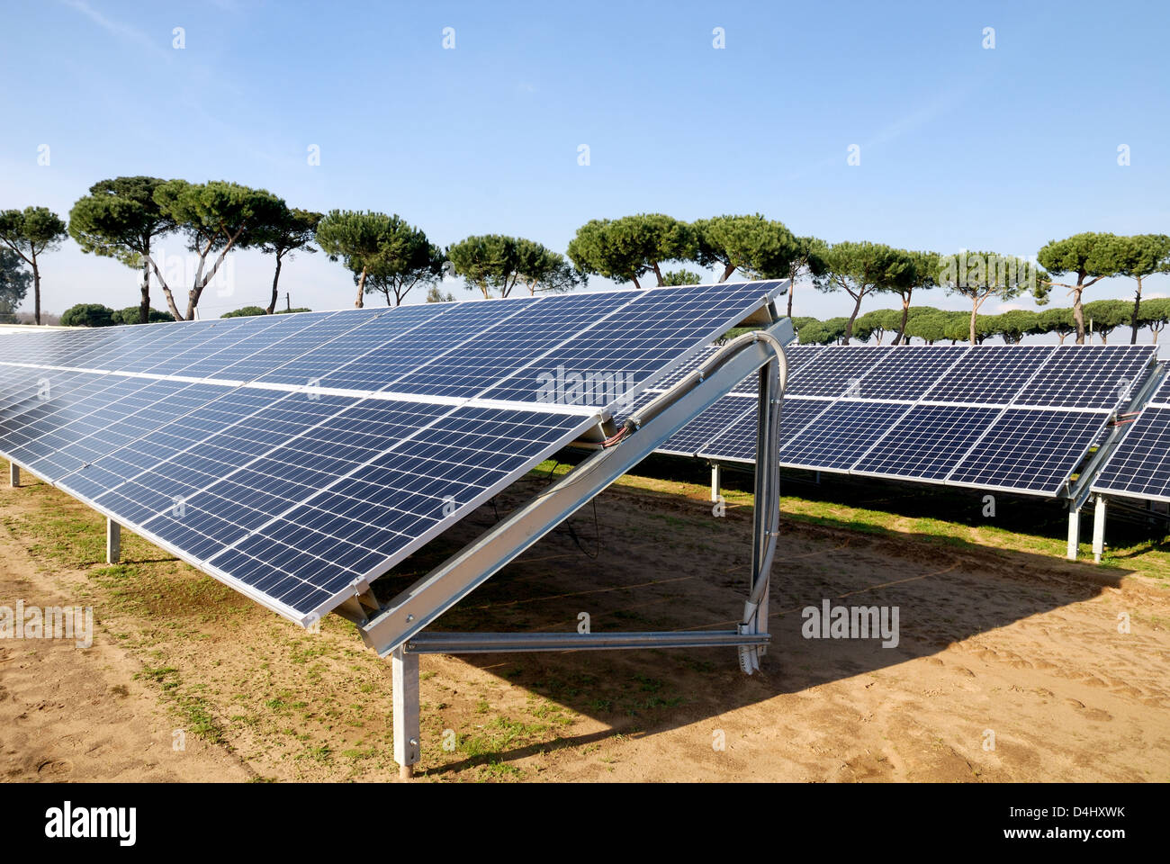 Photovoltaic panels - Stock Image