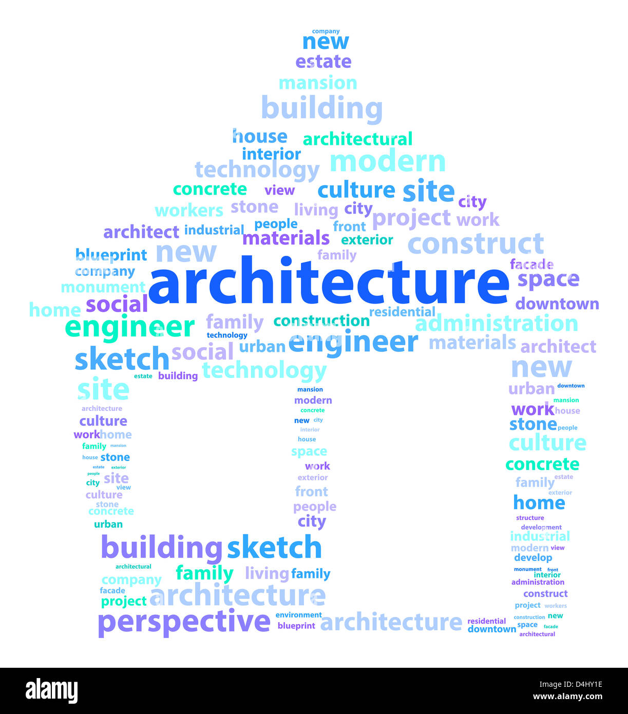 Architecture words stock photo 54484122 alamy architecture words malvernweather Image collections