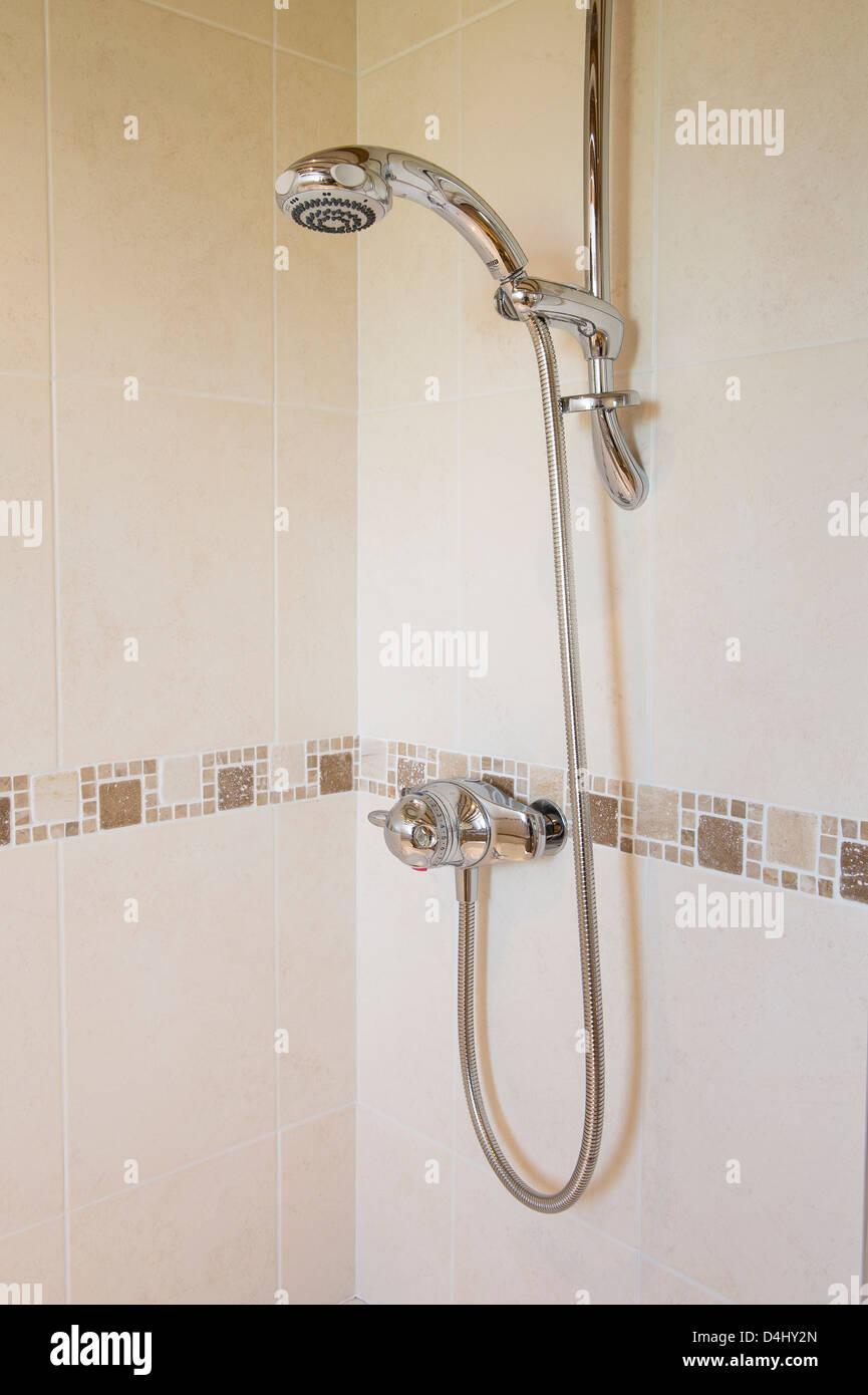 Interiors Modern Showers Stock Photos & Interiors Modern Showers ...