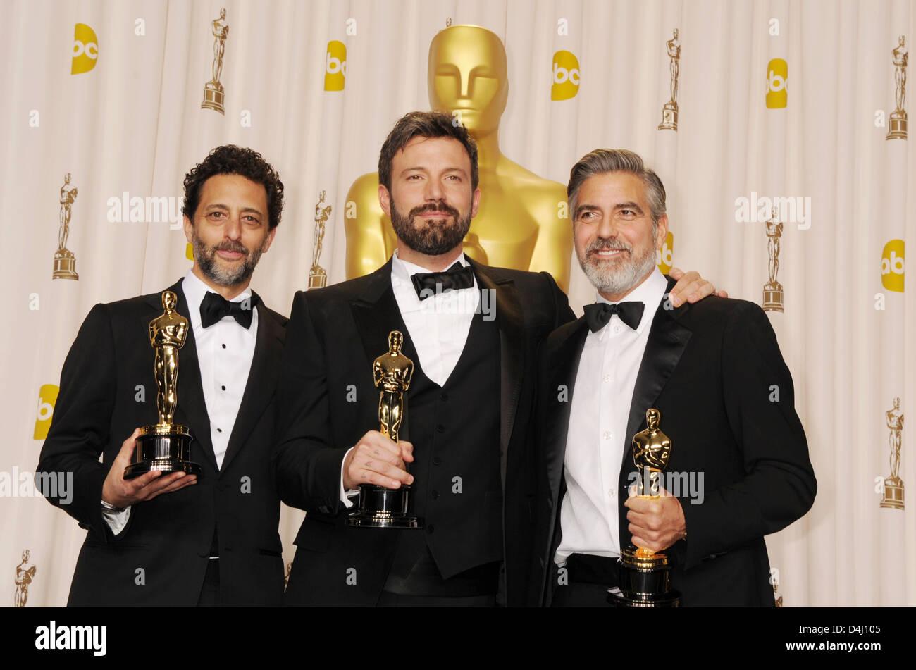 Argo 2012 Film Producers From L Grant Heslov Ben Affleck George Stock Photo Alamy