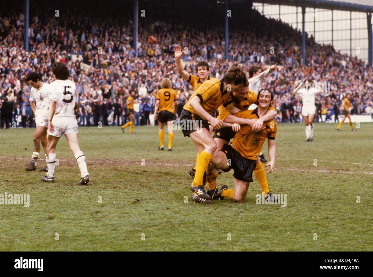 Kenny Hibbitt Tottenham Hotspur V Wolverhampton Wanderers FA Cup Semi Final At Hillsborough Football Footballers 1980s 1981