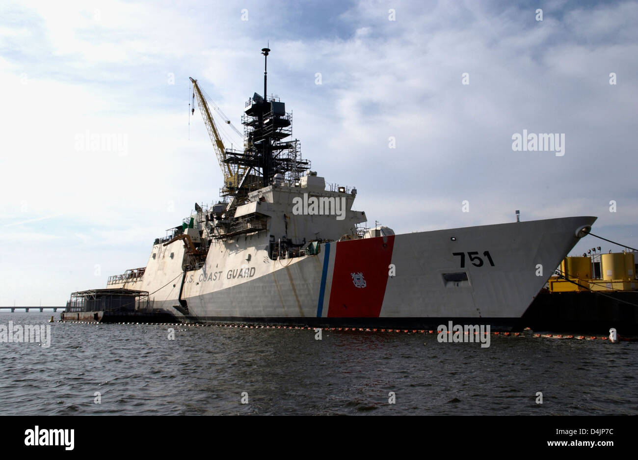 Coast Guard Cutter Warsche Stock Photo