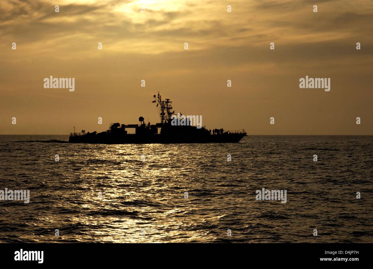 Coast Guard Cutter Shamal Stock Photo