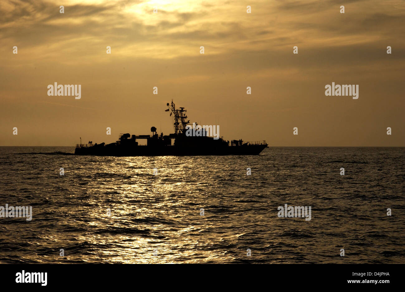 Coast Guard Cutter Shamal Stock Photo