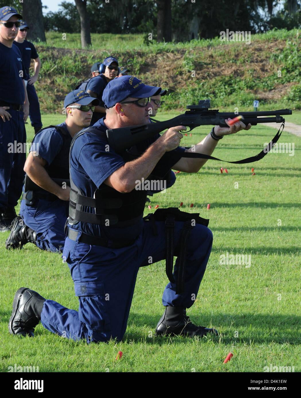 MSST-New Orleans Shooting Range Stock Photo