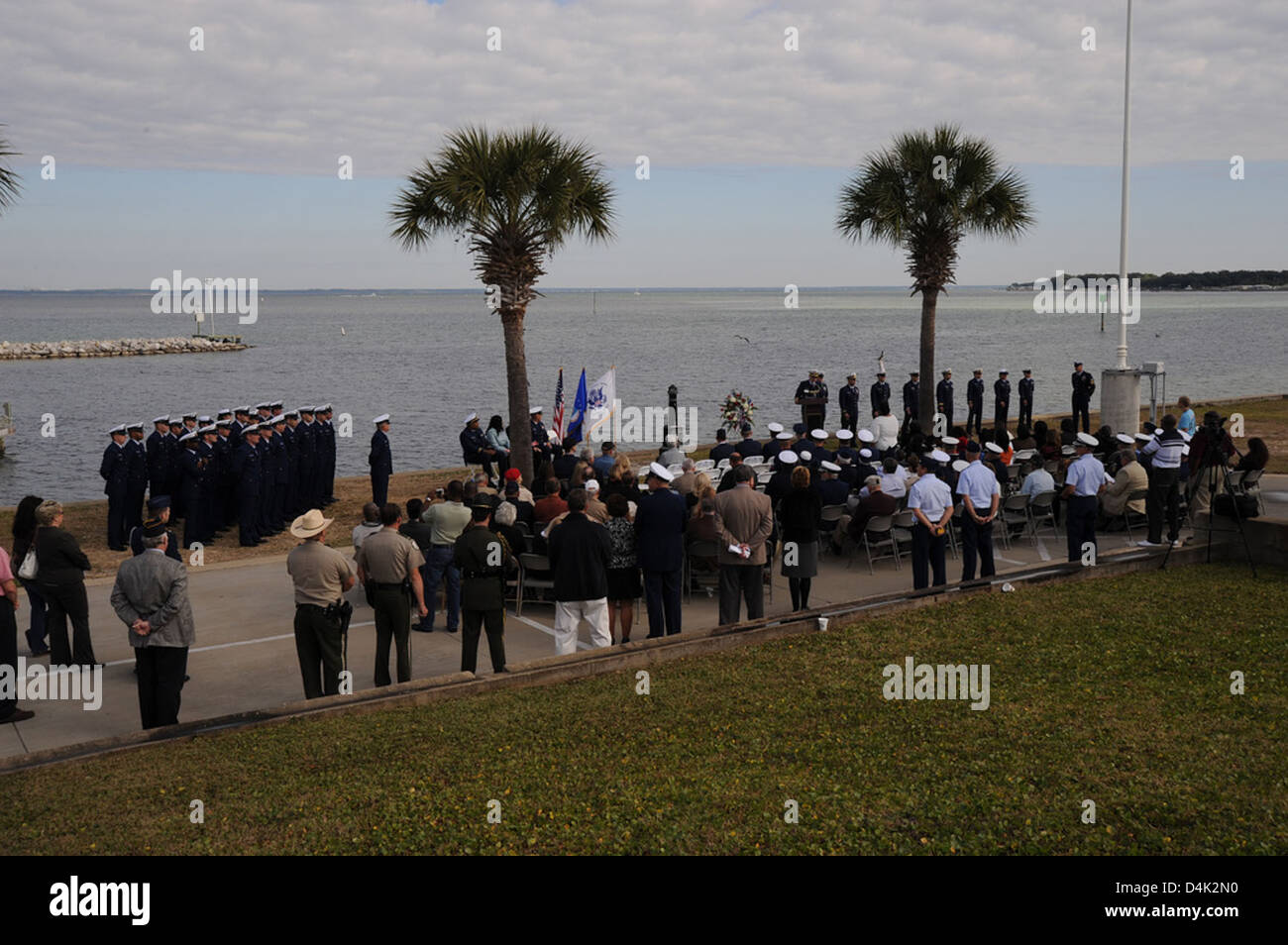 Petty Officer Lonnie Jones Memorial Stock Photo
