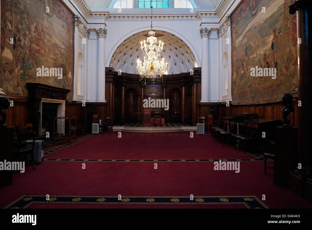 Parliament Room Bank of Ireland Dublin - Stock Image