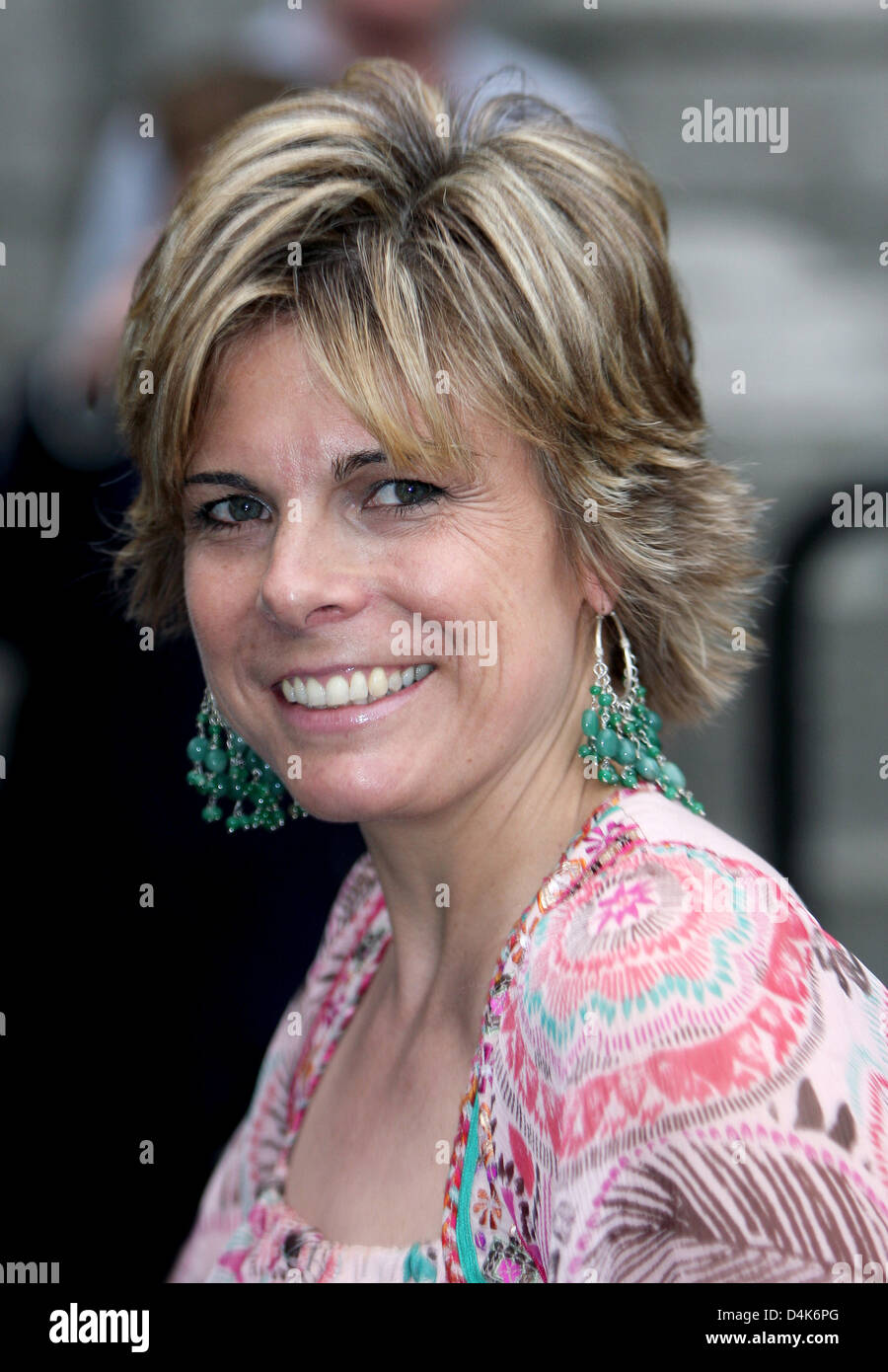Princess Laurentien of the Netherlands attends the celebration of 225 years of the ?Society to Usefulness in General? - Stock Image