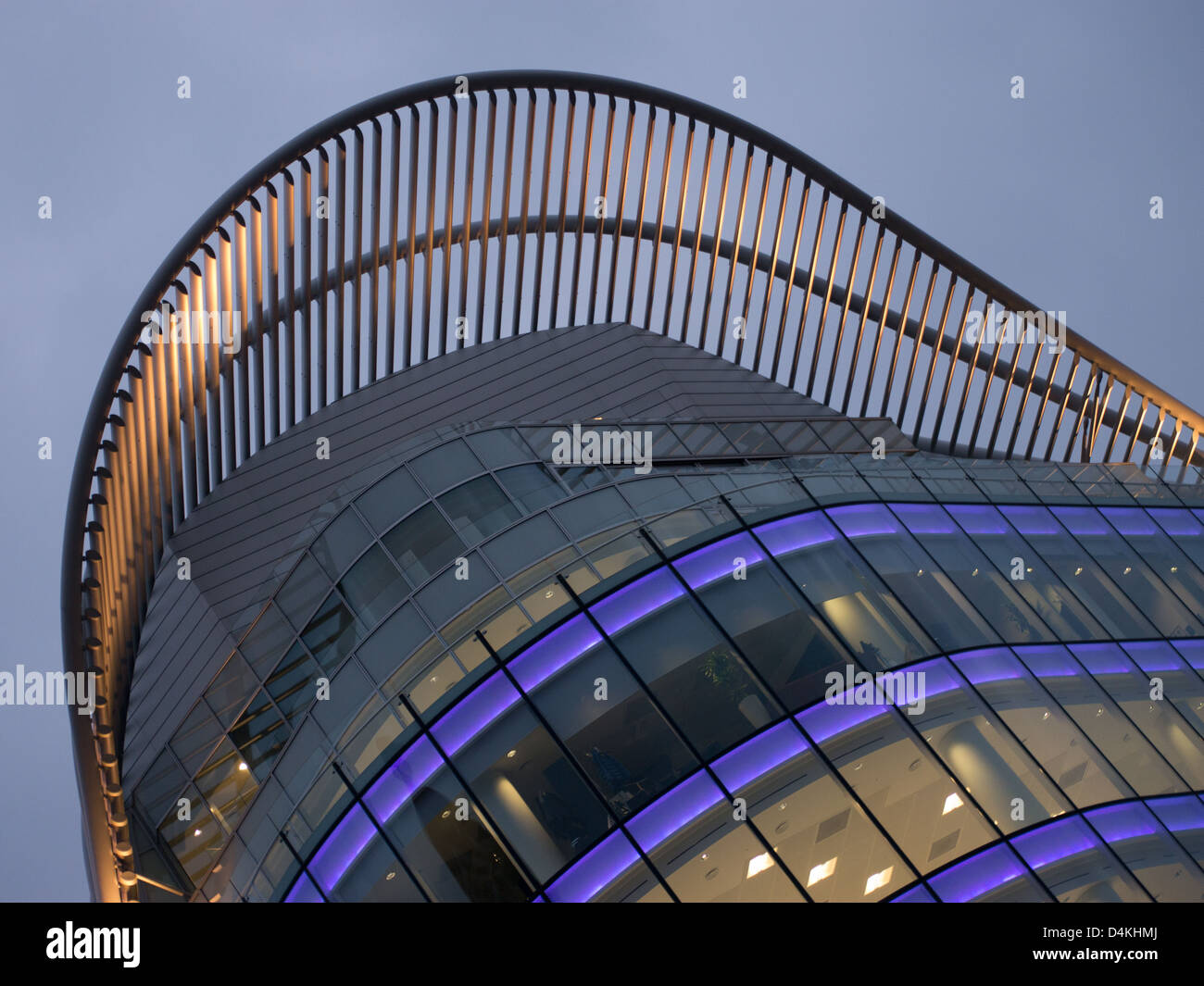 Office Building Modern Architecture styled in London - Stock Image