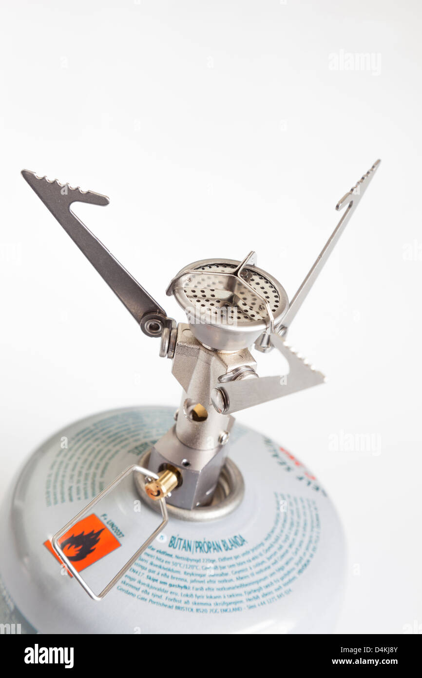 MSR Micro Rocket Lightweight Camping Stove - Stock Image