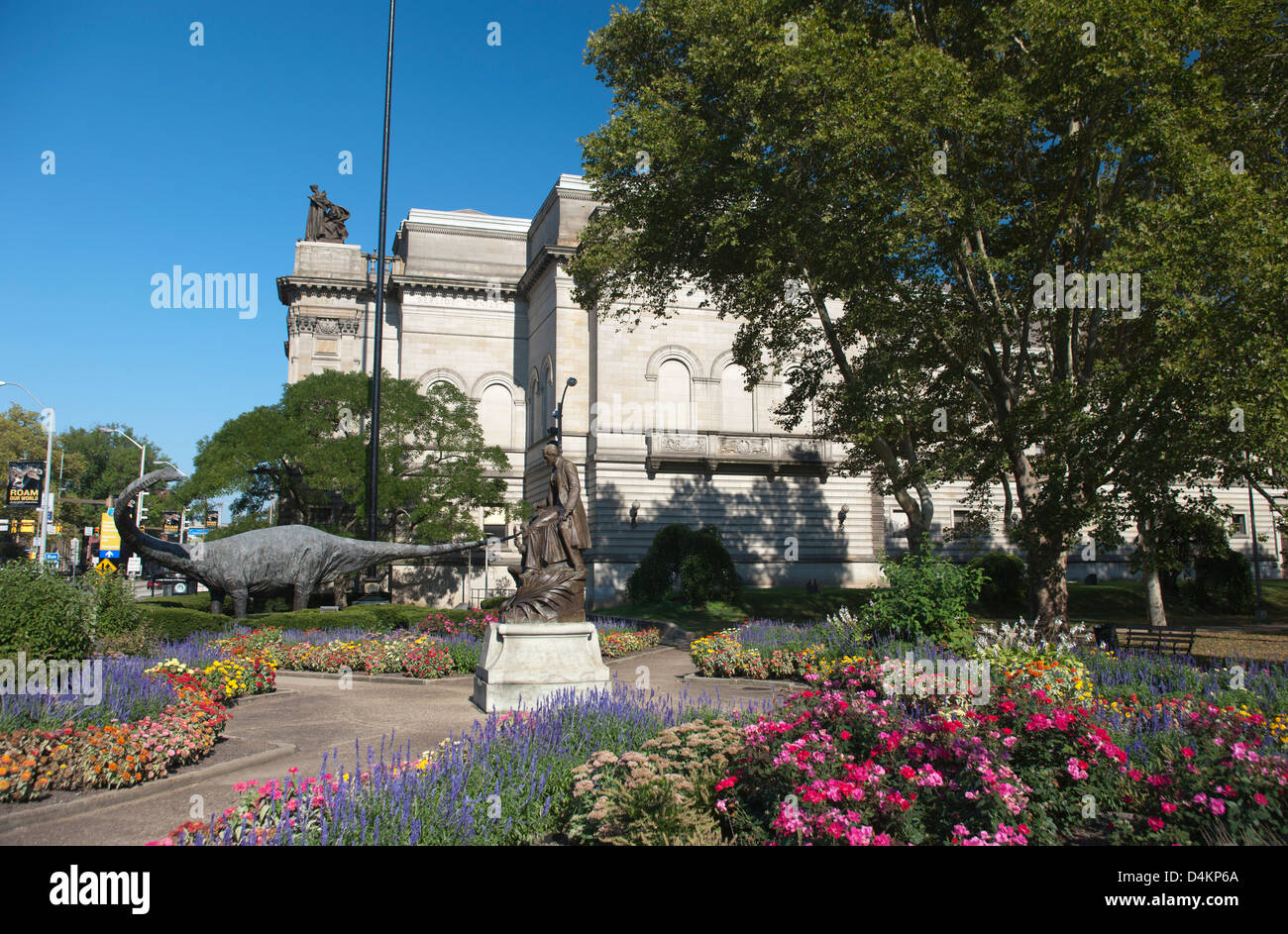 CARNEGIE MUSEUM OF NATURAL HISTORY (©LONGFELLOW ALDEN & HARLOW 1894) OAKLAND PITTSBURGH PENNSYLVANIA USA - Stock Image