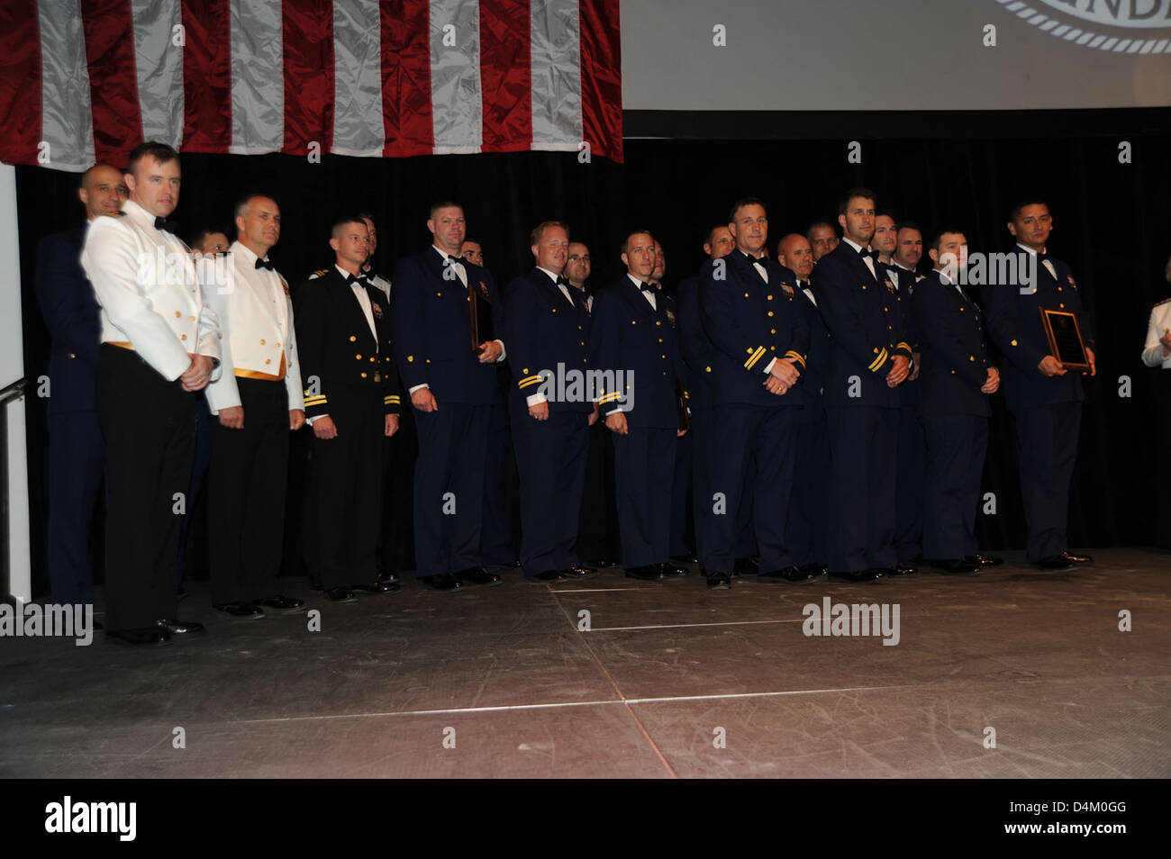 Coast Guard Foundation Stock Photo