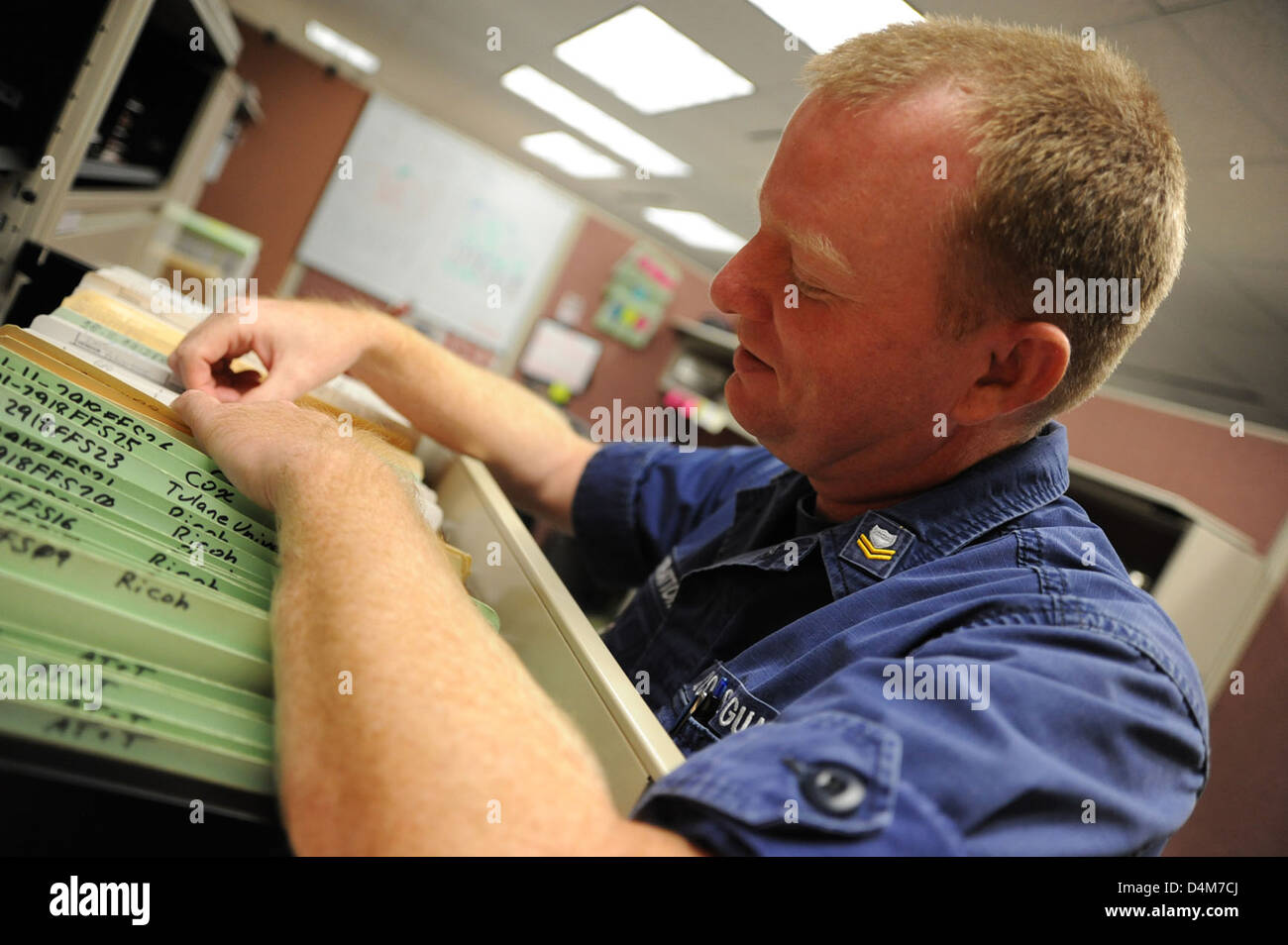 Eighth District storekeepers Stock Photo