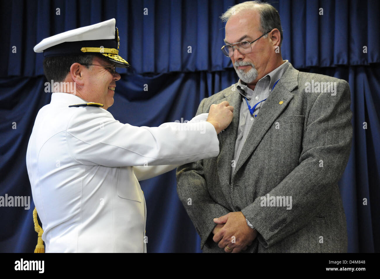 Deepwater Horizon Investigation Partners Ceremony Stock Photo