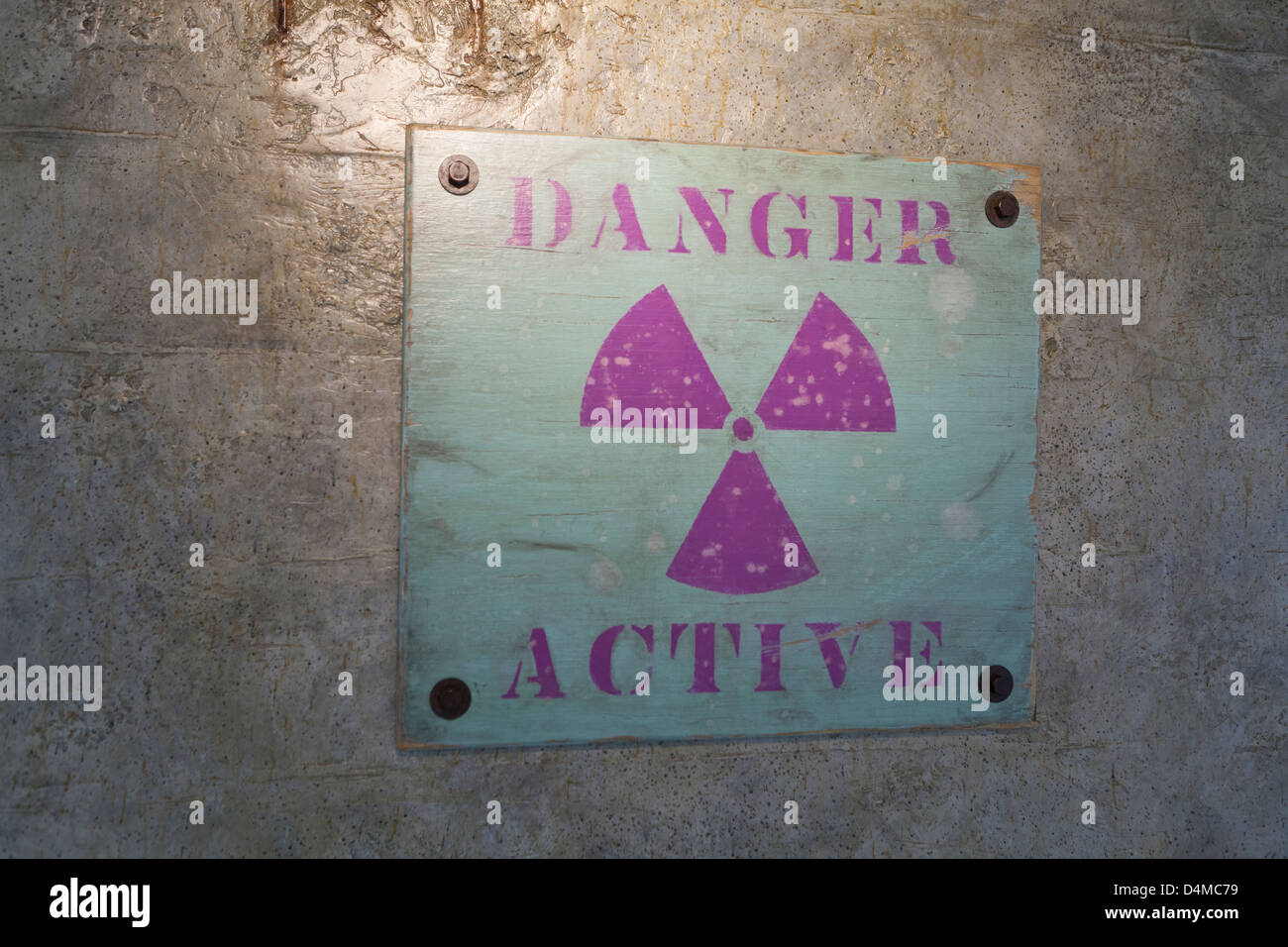 The first Radiation symbol Stock Photo