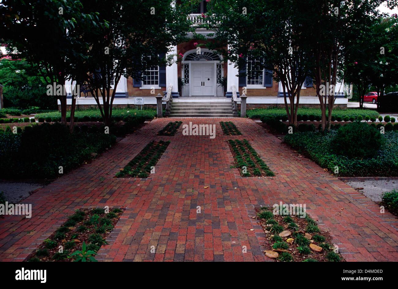 Battle-Friedman House (1835), Tuscaloosa, Alabama - Stock Image