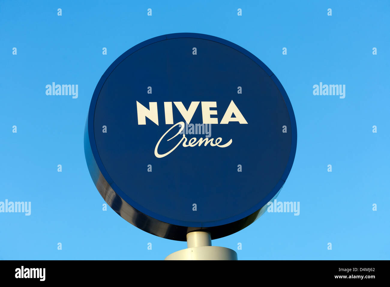 Poznan, Poland, headquarters of NIVEA Polska Sp z oo - Stock Image