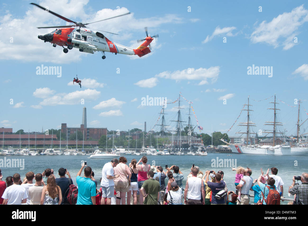 MH-60T Search and Rescue Demonstration - Stock Image