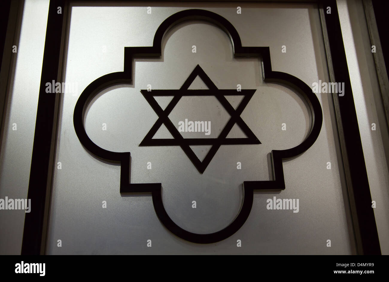 Star David Symbol Synagogue In Stock Photos Amp Star David