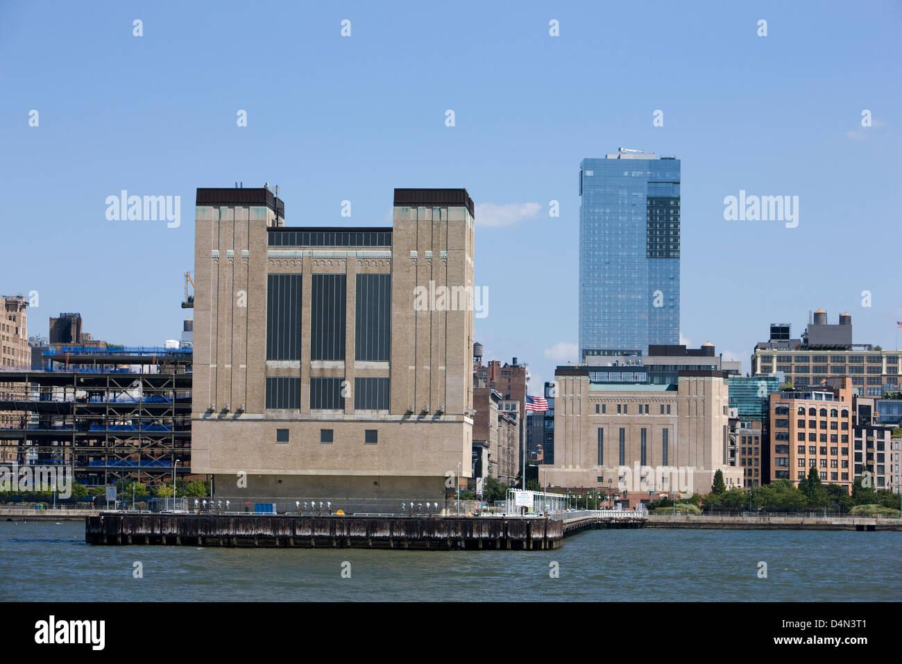 Holland Tunnel Ventilation Building Hudson River