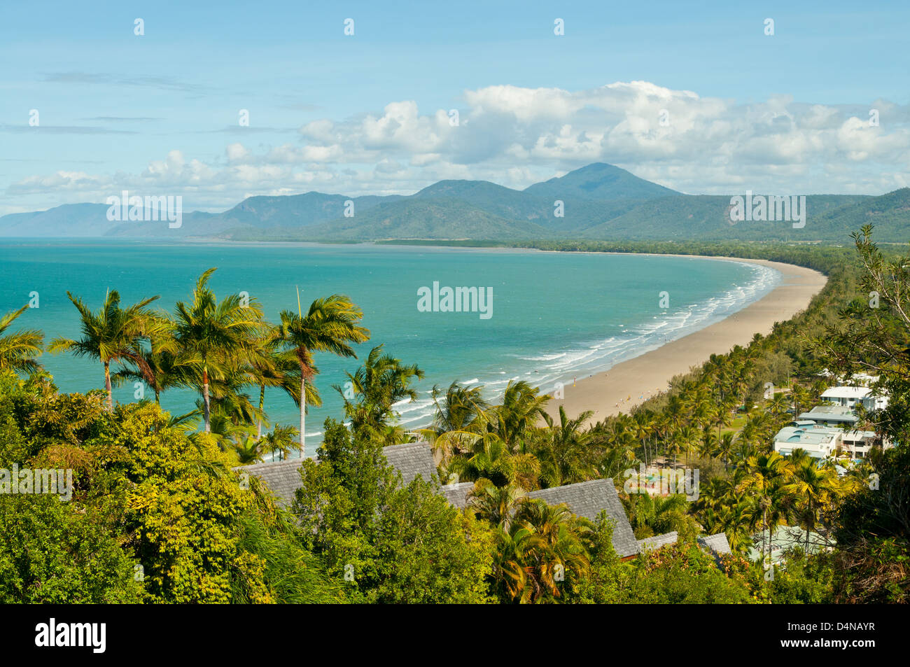 Port Douglas Beach, Port Douglas, Queensland, Australia - Stock Image